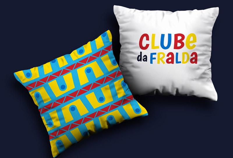 Almofadas - Clube da Fralda