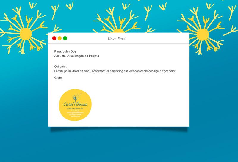 Assinatura de E-mail - Ana Carolina Bueno