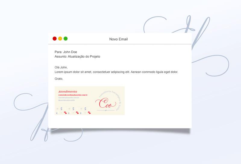 Assinatura de E-mail - Coordenadas
