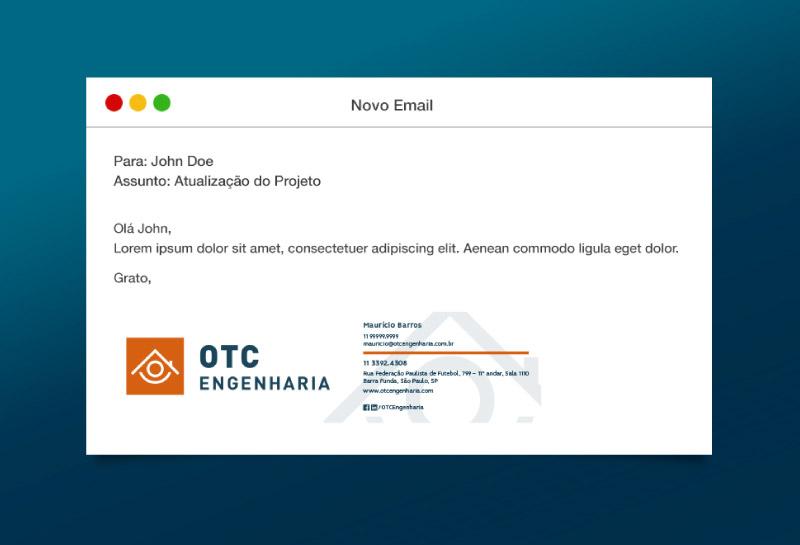 Assinatura de E-mail - OTC Engenharia