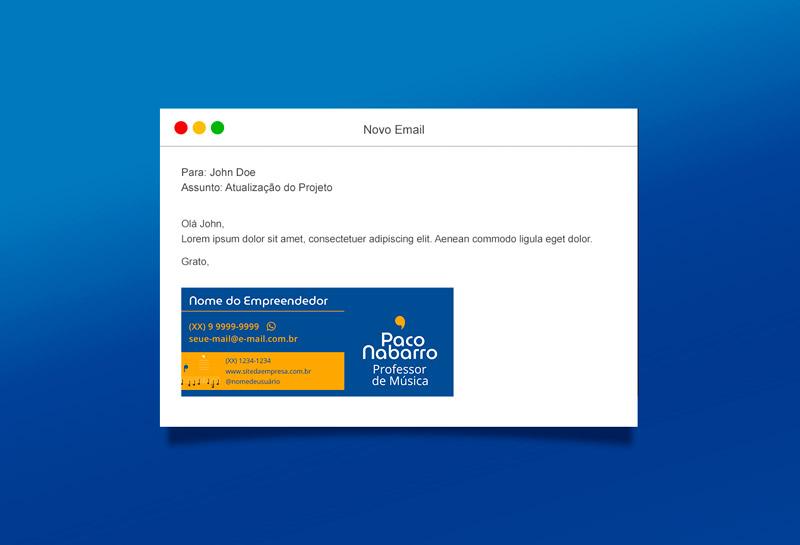 Assinatura de E-mail - Paco Nabarro