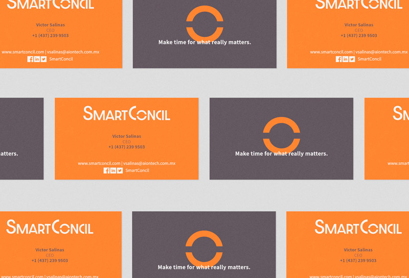 Cartão de Visitas - SmartConcil