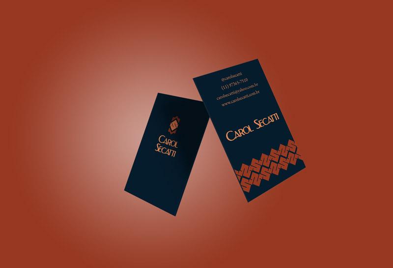 Cartão de Visitas 1 - Carol Secatti