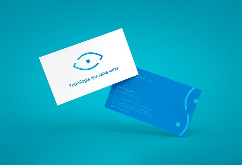 Cartão de Visitas - F-Light UV