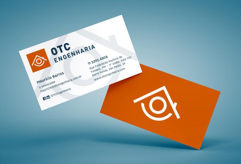 Cartão de Visitas - OTC Engenharia