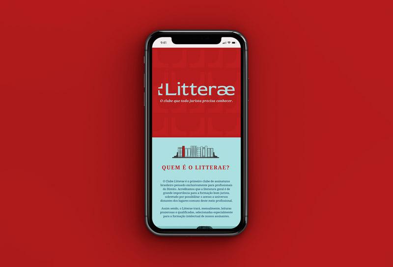 Site Institucional - Litterae