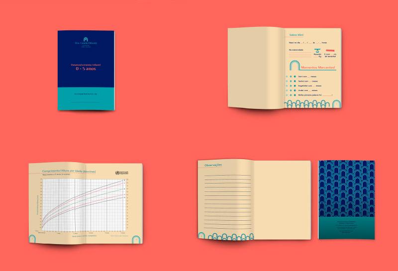 Caderneta de Desenvolvimento Infantil Meninas - Dra Camila Olivotti