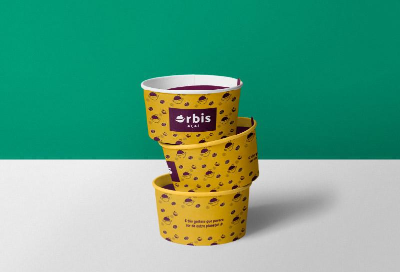 Embalagem Pote de Açaí – Órbis Açaí