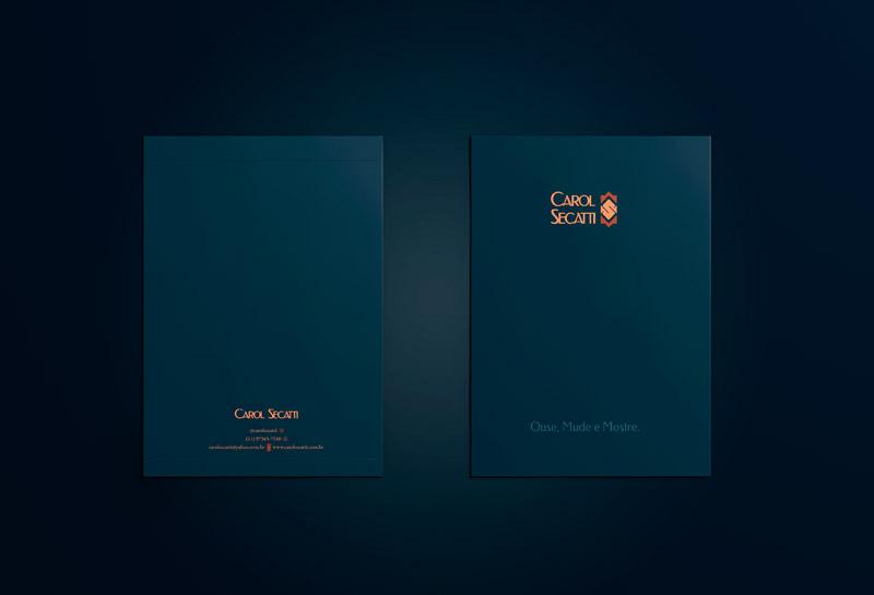 Envelope Saco - Carol Secatti