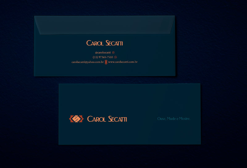 Envelope Ofício - Carol Secatti