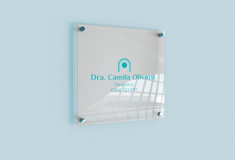 Logo - Dra Camila Olivotti 2