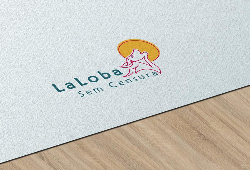 Logo - La Loba sem Censura