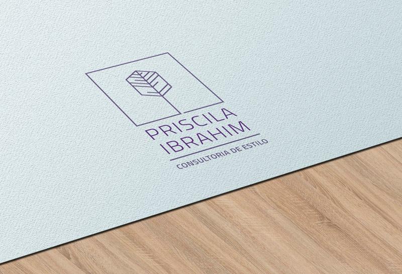 Logo - Priscila Ibrahim