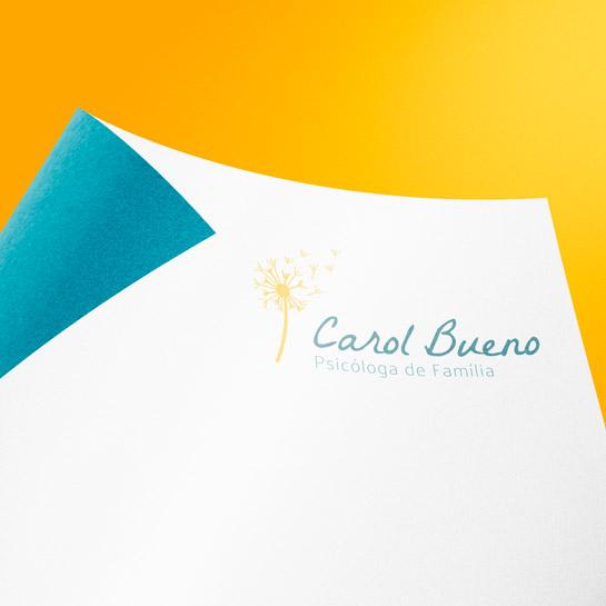 Logo no Papel Miniatura - Ana Carolina Bueno