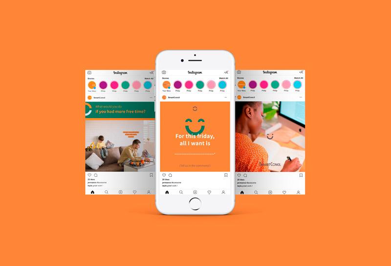 Templates para Posts de Feed do Instagram - SmartConcil