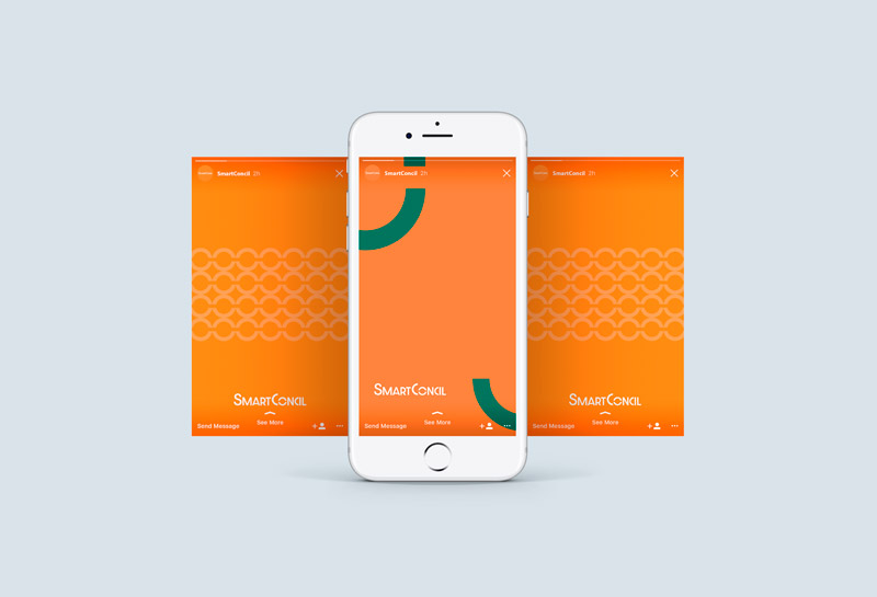 Templates para Stories - SmartConcil
