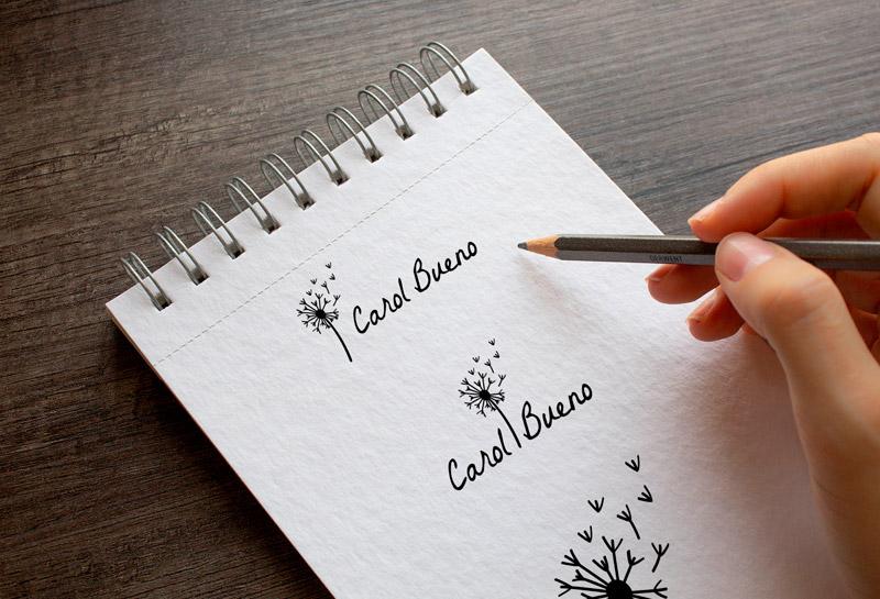 Rascunho Logos - Ana Carolina Bueno