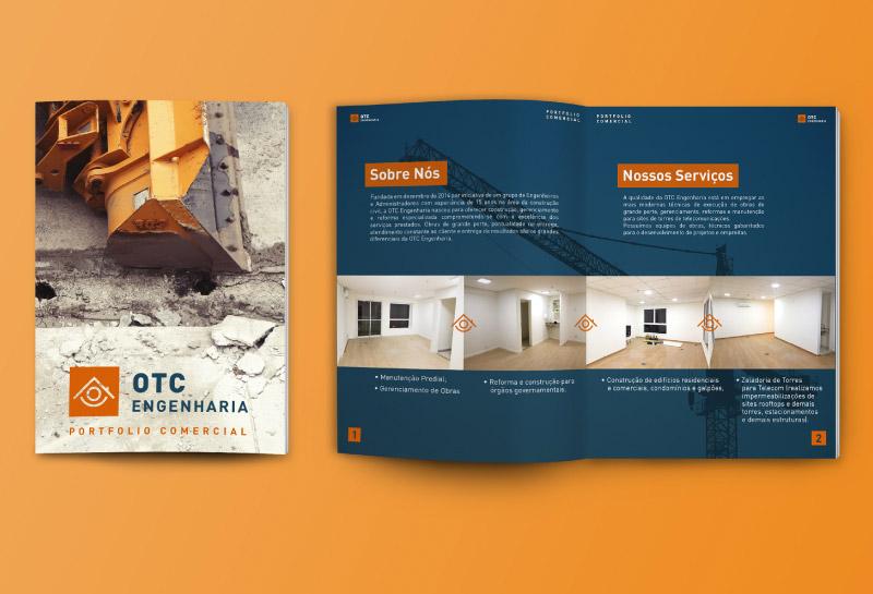 Revista - Portfólio Impresso - OTC Engenharia 1