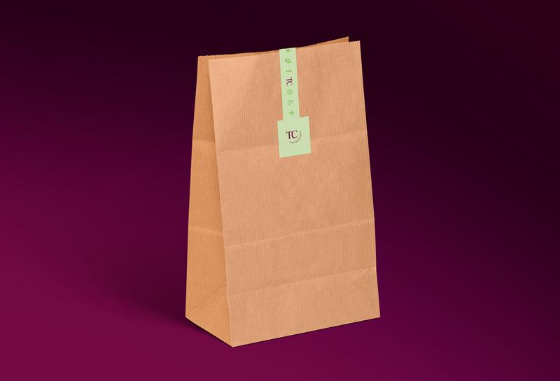 Adesivo para Sacola - Talita Caldeira Gastronomia