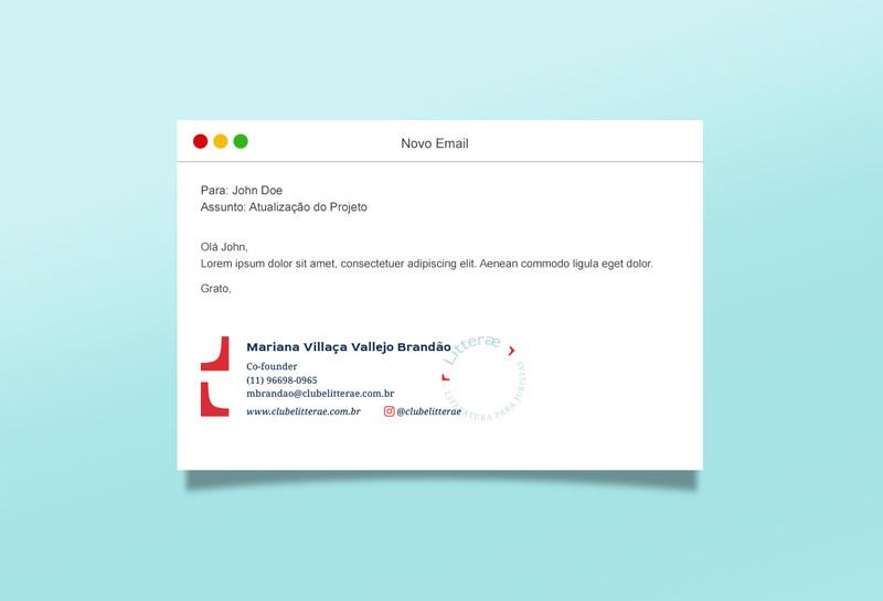 Assinatura de E-mail - Litterae