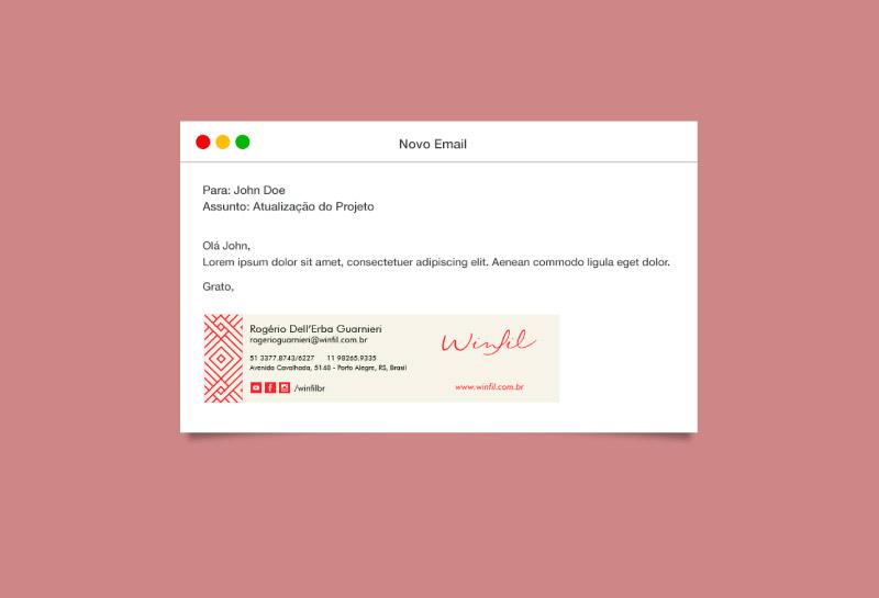 Assinatura de E-mail - Winfil