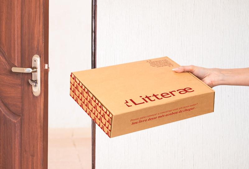 Caixa para Correios - Litterae 1