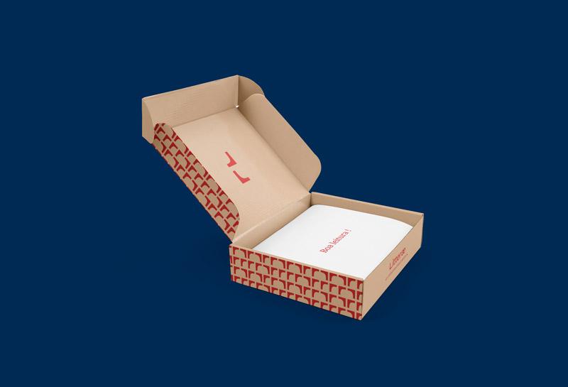 Caixa para Correios - Litterae 2