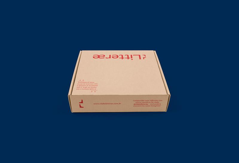 Caixa para Correios - Litterae 4