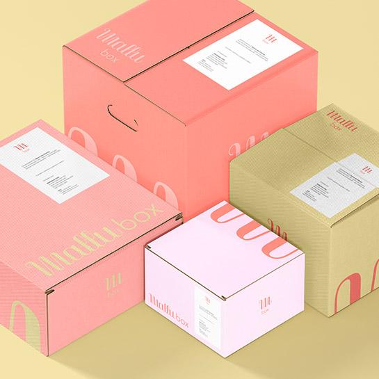Embalagens Caixas - Miniatura - Mallubox