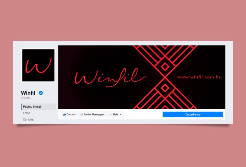 Capa para Facebook - Winfil