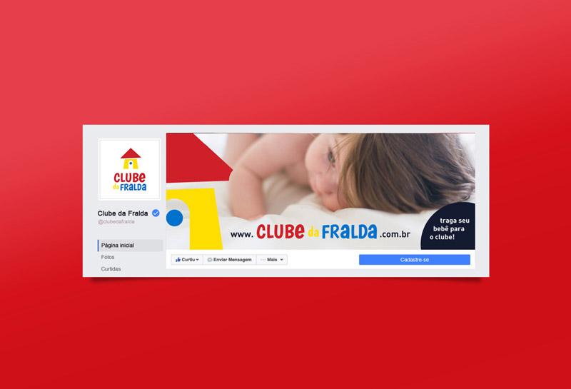Capa para Facebook - Clube da Fralda
