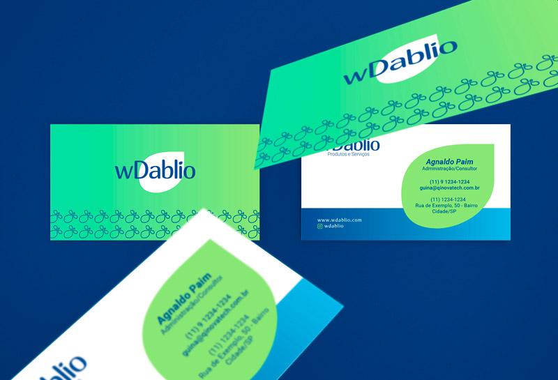 Cartão de Visitas - WDablio