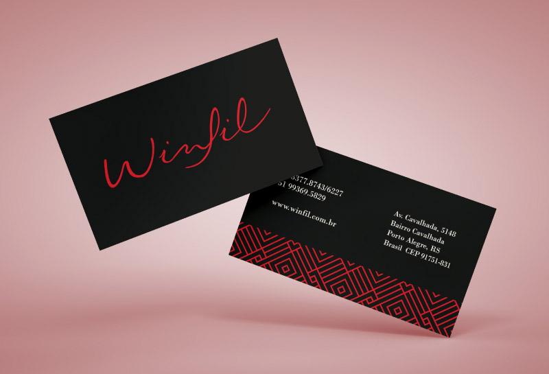 Cartão de Visitas - Winfil