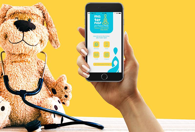 Cartão Digital - Maternar