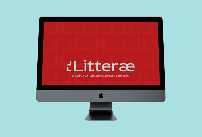 Wallpaper para Computador - Litterae