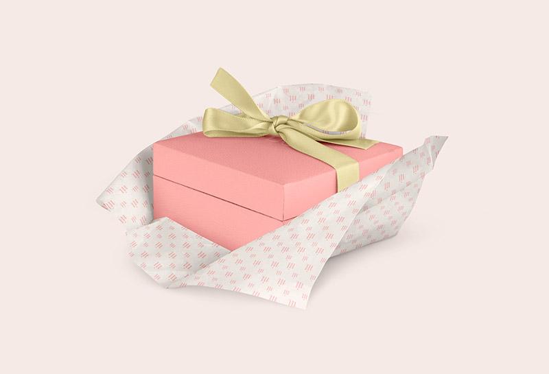 Embalagem e Papel de Seda - Mallubox 2