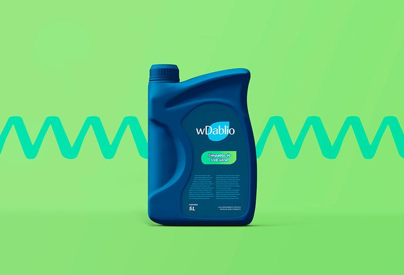 Embalagem Bombona Galão - WDablio