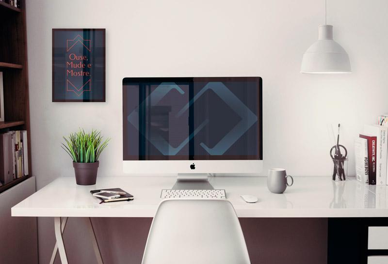 Quadro e Wallpaper - Carol Secatti