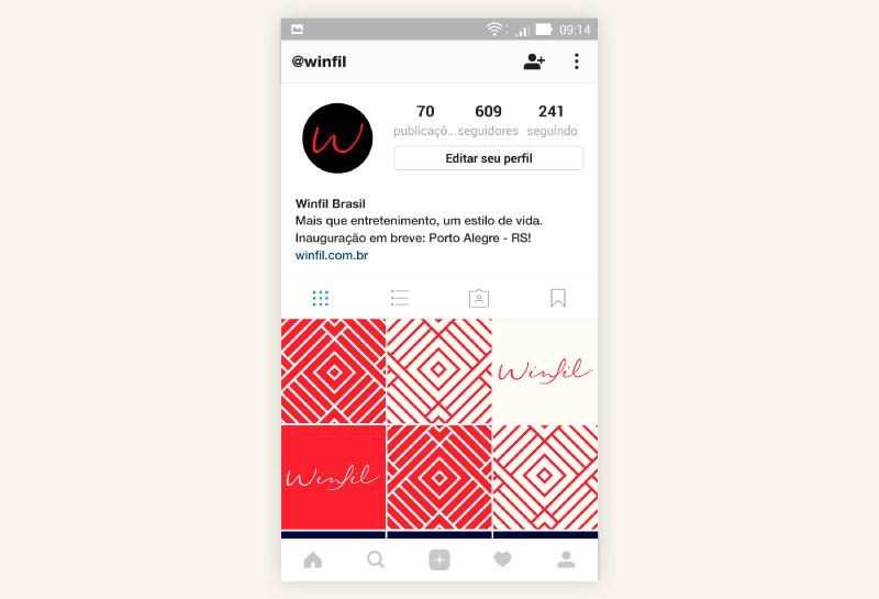 Feed para Instagram - Winfil