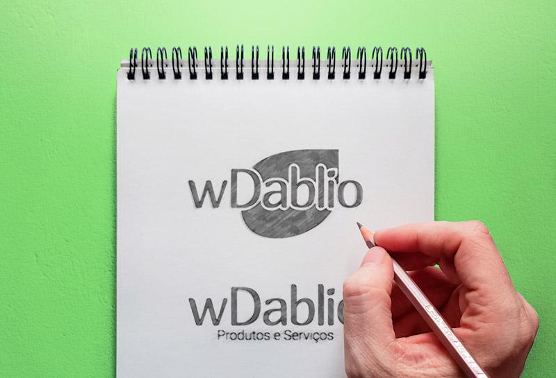 Variações do Logotipo - WDablio