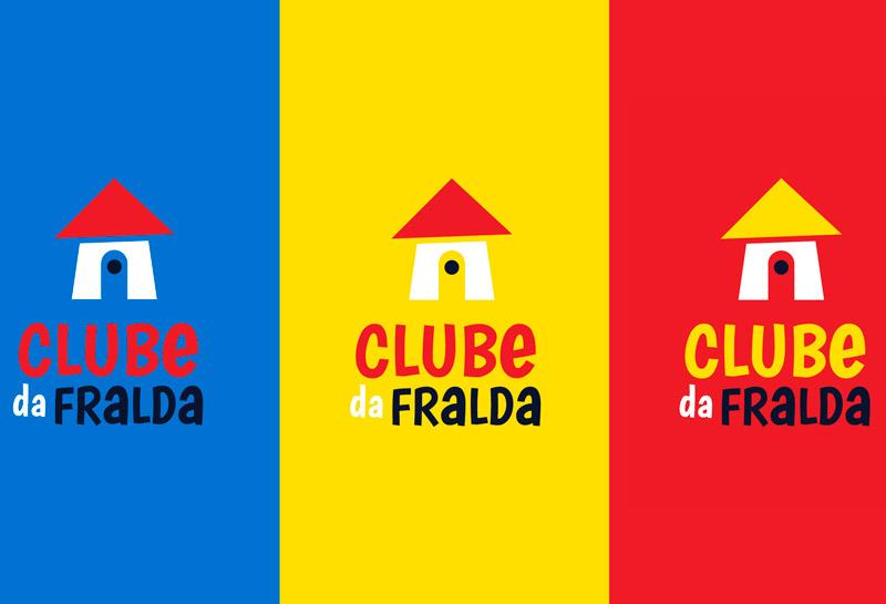 Variações Logo Vertical - Clube da Fralda
